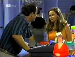 Philip Martin, Julie Robinson in Neighbours Episode 2107