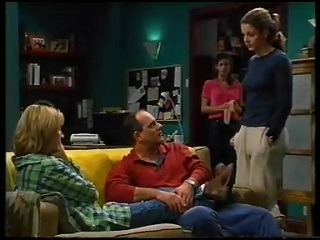 Ruth Wilkinson, Philip Martin, Anne Wilkinson, Hannah Martin in Neighbours Episode 3142