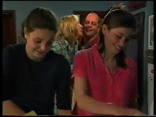 Hannah Martin, Ruth Wilkinson, Philip Martin, Anne Wilkinson in Neighbours Episode 3142
