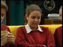 Lance Wilkinson, Hannah Martin, Amy Greenwood in Neighbours Episode 3143
