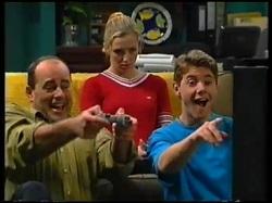 Philip Martin, Amy Greenwood, Lance Wilkinson in Neighbours Episode 3143