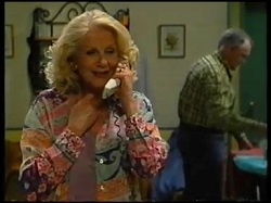 Madge Bishop, Harold Bishop in Neighbours Episode 3143