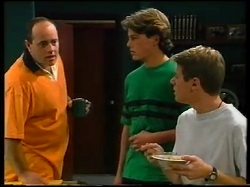 Philip Martin, Mark Sindon, Lance Wilkinson in Neighbours Episode 3143