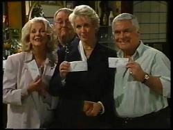 Madge Bishop, Harold Bishop, Hilary Grant, Lou Carpenter in Neighbours Episode 3143