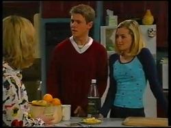 Ruth Wilkinson, Lance Wilkinson, Amy Greenwood in Neighbours Episode 3144