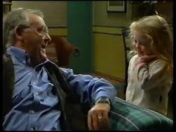 Harold Bishop, Louise Carpenter (Lolly) in Neighbours Episode 3145