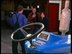 Felix Tishler, Karl Kennedy, Susan Kennedy in Neighbours Episode 3145