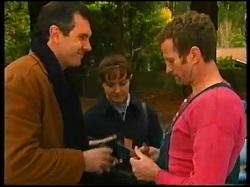 Karl Kennedy, Susan Kennedy, Felix Tishler in Neighbours Episode 3145