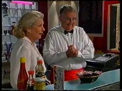 Madge Bishop, Harold Bishop in Neighbours Episode 3171