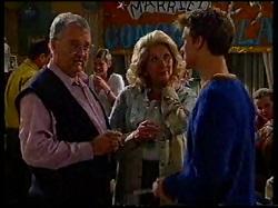 Harold Bishop, Madge Bishop, Billy Kennedy in Neighbours Episode 3171