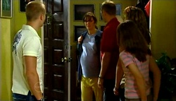 Boyd Hoyland, Kayla Thomas, Max Hoyland, Steph Scully, Summer Hoyland in Neighbours Episode 4749