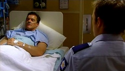 Paul Robinson, Stuart Parker in Neighbours Episode 4751