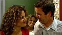 Liljana Bishop, Serena Bishop, David Bishop in Neighbours Episode 4751