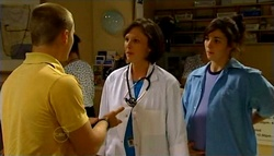 Boyd Hoyland, Dr Veronica Olenski, Kayla Thomas in Neighbours Episode 4754
