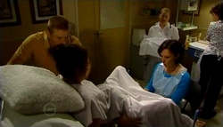 Boyd Hoyland, Kayla Thomas, Dr Veronica Olenski in Neighbours Episode 4754