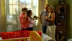 Susan Kennedy, Summer Hoyland, Max Hoyland, Steph Scully in Neighbours Episode 4758