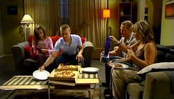 Summer Hoyland, Boyd Hoyland, Max Hoyland, Steph Scully in Neighbours Episode 4758