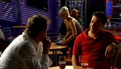 Stuart Parker, Sindi Watts, Allan Steiger in Neighbours Episode 4758