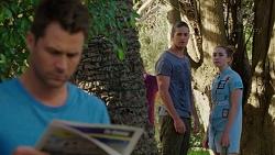 Mark Brennan, Tyler Brennan, Piper Willis in Neighbours Episode 7530