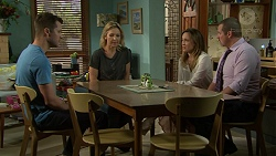 Mark Brennan, Steph Scully, Sonya Mitchell, Toadie Rebecchi in Neighbours Episode 7530