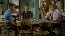 Mark Brennan, Steph Scully, Sonya Rebecchi, Toadie Rebecchi in Neighbours Episode 7530