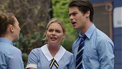 Piper Willis, Xanthe Canning, Ben Kirk in Neighbours Episode 7530