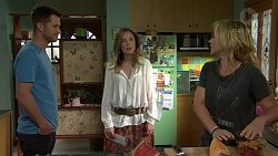 Mark Brennan, Sonya Mitchell, Steph Scully in Neighbours Episode 7531