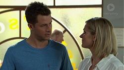 Mark Brennan, Ellen Crabb in Neighbours Episode 7531