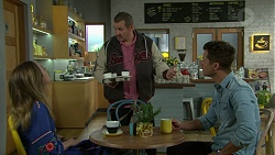 Sonya Mitchell, Toadie Rebecchi, Mark Brennan in Neighbours Episode 7532