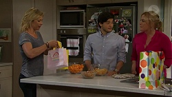 Steph Scully, David Tanaka, Lauren Turner in Neighbours Episode 7532
