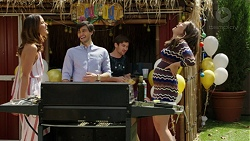 Elly Conway, David Tanaka, Ned Willis, Paige Novak in Neighbours Episode 7532