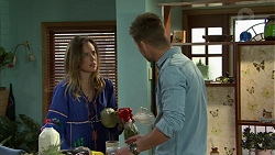 Sonya Mitchell, Mark Brennan in Neighbours Episode 7532