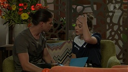 Tyler Brennan, Piper Willis in Neighbours Episode 7533
