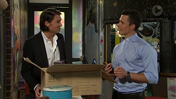 Leo Tanaka, Jack Callaghan in Neighbours Episode 7533