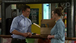 Jack Callaghan, Amy Williams in Neighbours Episode 7533