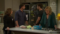 Terese Willis, Brad Willis, Ned Willis, Lauren Turner in Neighbours Episode 7533