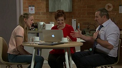 Willow Bliss, Susan Kennedy, Toadie Rebecchi in Neighbours Episode 7533
