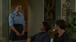 Piper Willis, Brad Willis, Ned Willis in Neighbours Episode 7533