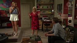 Xanthe Canning, Sheila Canning, Gary Canning in Neighbours Episode 7534