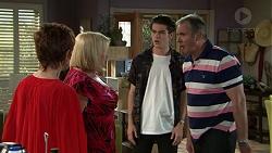 Susan Kennedy, Sheila Canning, Ben Kirk, Karl Kennedy in Neighbours Episode 7534