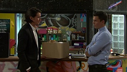 Leo Tanaka, Jack Callaghan in Neighbours Episode 7534