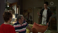 Susan Kennedy, Karl Kennedy, Ben Kirk in Neighbours Episode 7535