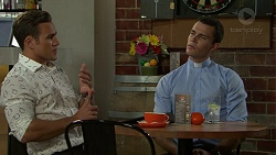 Aaron Brennan, Jack Callaghan in Neighbours Episode 7535
