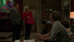Bruce McNally, Sheila Canning, Gary Canning in Neighbours Episode 7535