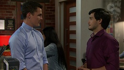 Jack Callaghan, David Tanaka in Neighbours Episode 7535