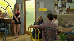 Willow Bliss, Xanthe Canning, Ben Kirk, Jimmy Williams in Neighbours Episode 7538