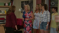 Terese Willis, Sheila Canning, Xanthe Canning, Amy Williams, Jimmy Williams in Neighbours Episode 7538