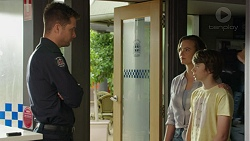 Mark Brennan, Amy Williams, Jimmy Williams in Neighbours Episode 7539