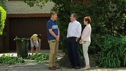 Jimmy Williams, Gary Canning, Karl Kennedy, Susan Kennedy in Neighbours Episode 7539