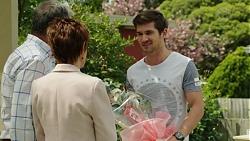 Karl Kennedy, Susan Kennedy, Ned Willis in Neighbours Episode 7539